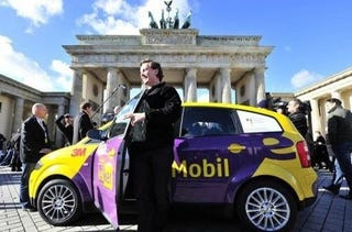 Illustration for article titled German Electric Car Drives a Record-Breaking 372 Miles on a Single Charge