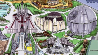 Illustration for article titled This is the new Star Wars theme park we're looking for