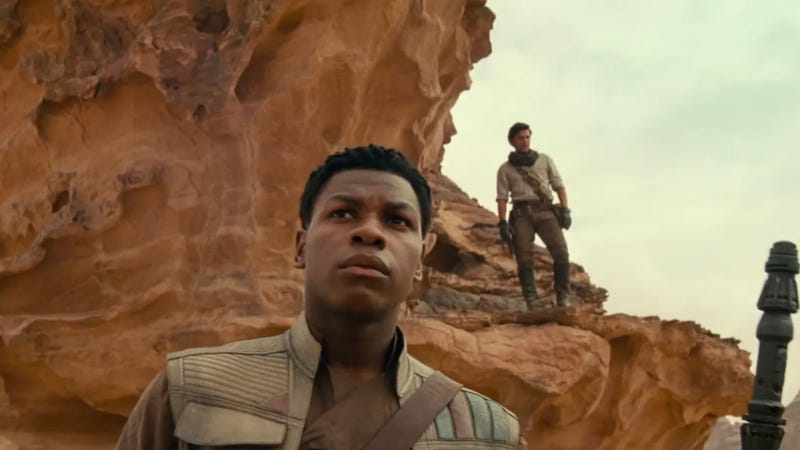 Finn and Poe are two characters who could return very well after the rise of Skywalker.