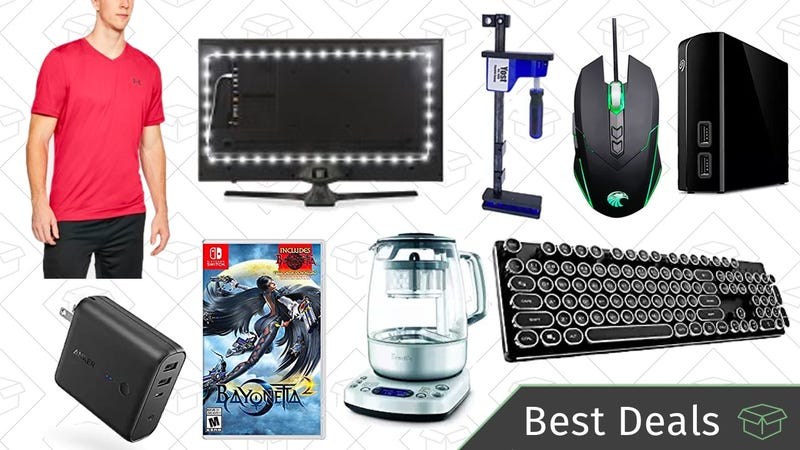 Illustration for article titled Tuesday's Best Deals: USB Travel Charger, Bias Lights, Breville Tea Maker, and More