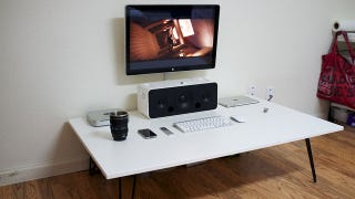Illustration for article titled The Low, White Workspace