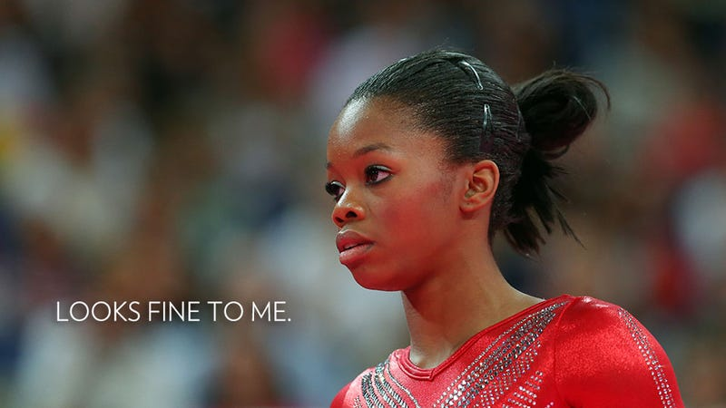 Illustration for article titled Haters Need to Shut the Hell Up About Gabby Douglas' Hair