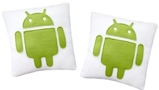 Illustration for article titled For Twenty Bucks, You Can Snuggle Up With The Android Mascot