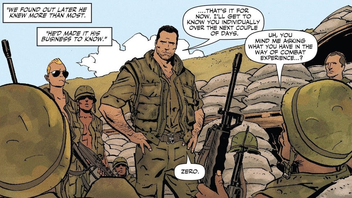 Punisher MAX: The Platoon Is Exactly the Kind of Story Frank