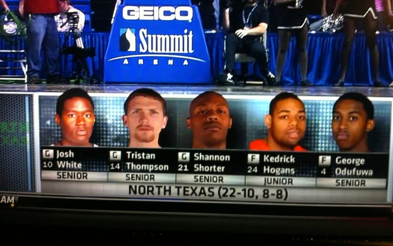 Illustration for article titled Fighting Illini Are Everywhere, Even In North Texas's Starting Lineup