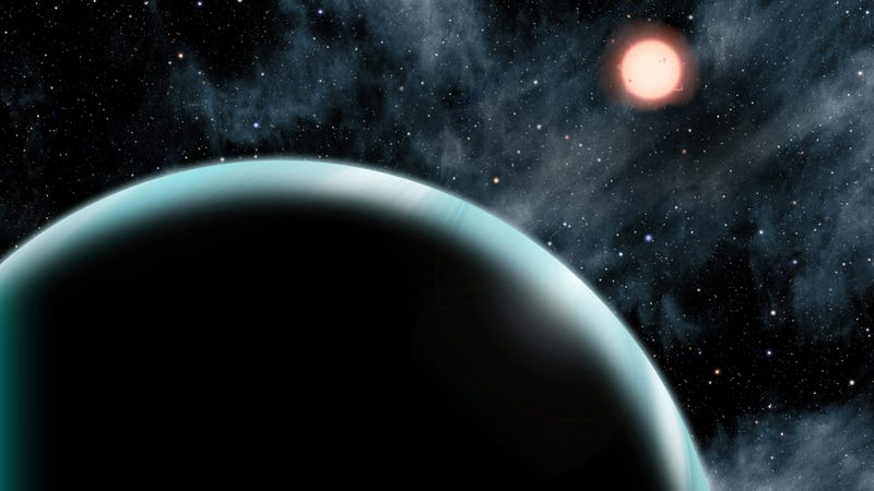 "Illustration for article titled For the First Time, We've Found an Exoplanet at the ""Frost Line"""