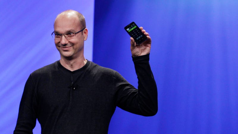 Former SVP of Android Andy Rubin