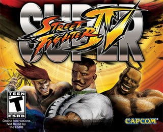 Illustration for article titled Super Street Fighter IV Box Art Gets A Welcome Dose Of Dudley