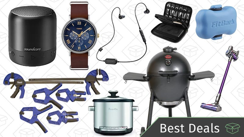 Illustration for article titled Tuesday's Best Deals: Bluetooth Speaker, Yost Vises, Mother's Day Watches, and More