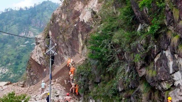Large Landslide Hits Highway in India, Leaves at Least 13 Dead
