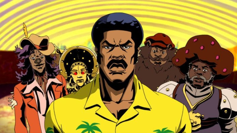 """Illustration for article titled Black Dynamite: """"The Wizard Of Watts"""""""