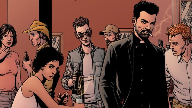 The Preacher TV Show Happened Because Seth Rogen and Evan Goldberg Never Shut Up About It