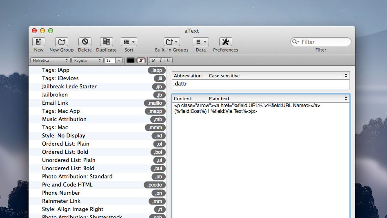 Text view app for mac pro