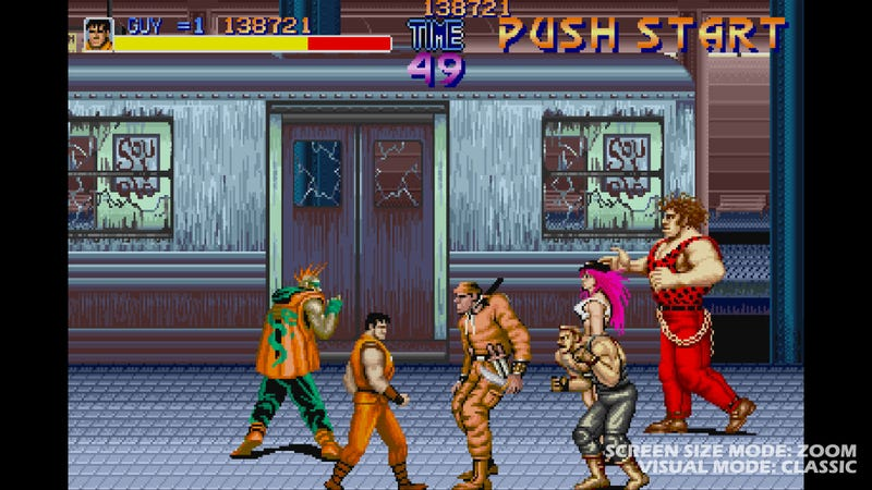 Illustration for article titled Final Fight: Double Impact Screens