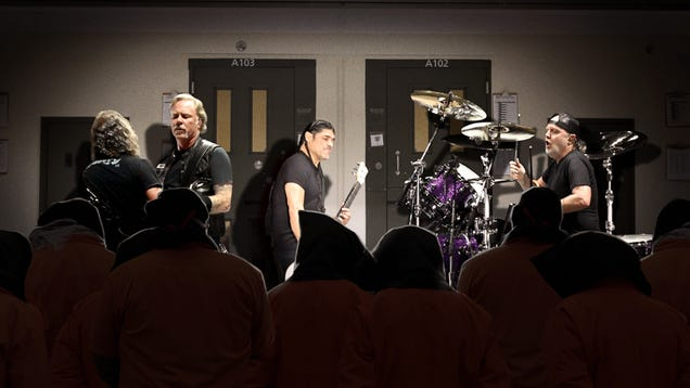New CIA Torture Program Concert Series Brings Metallica Into Black Sites To Play 72-Hour Sets