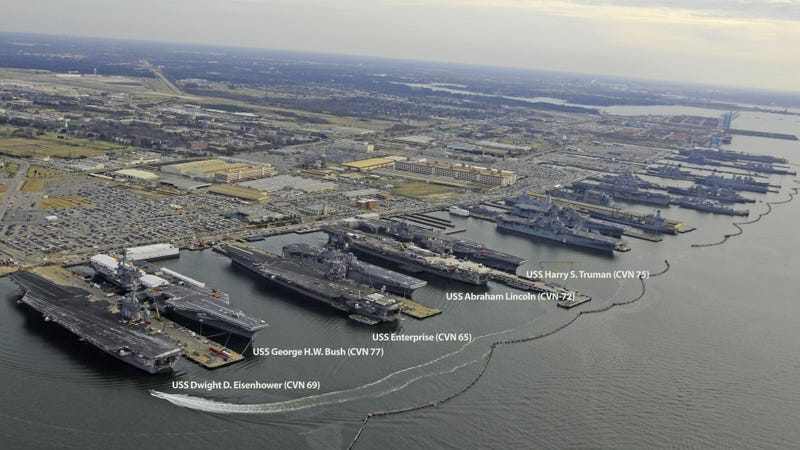 Illustration for article titled This Is Why the US Navy Is the Most Formidable Naval Force In the World