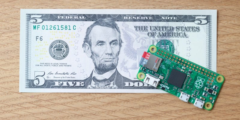 Illustration for article titled There's a New Raspberry Pi That Only Costs $5
