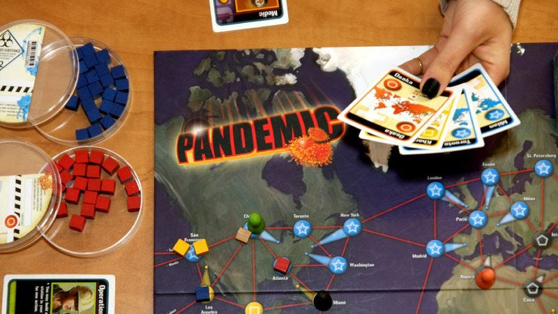 Illustration for article titled How board games sum up the meaning of life through colorful cards and painted pieces