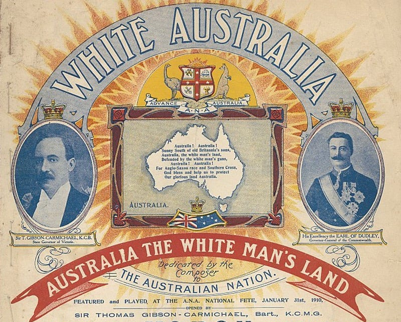 Between 1901 10 1973, australias migration policy offered many benefits but discriminated others?
