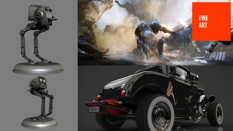 Illustration for article titled Crytek Concept Art Includes More Battlefront III Images