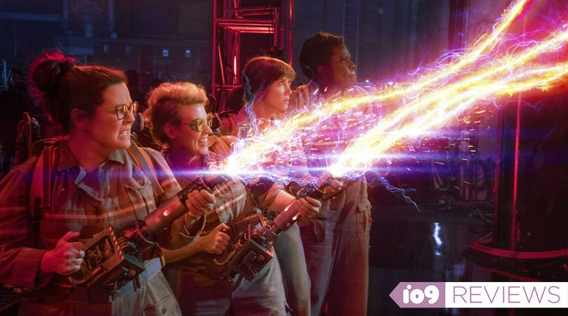Illustration for article titled Movie Review: Ghostbusters Isn't Perfect, But It's So Much Fun You Won't Care