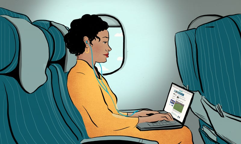 Illustration for article titled How To Be A Good Person On An Airplane