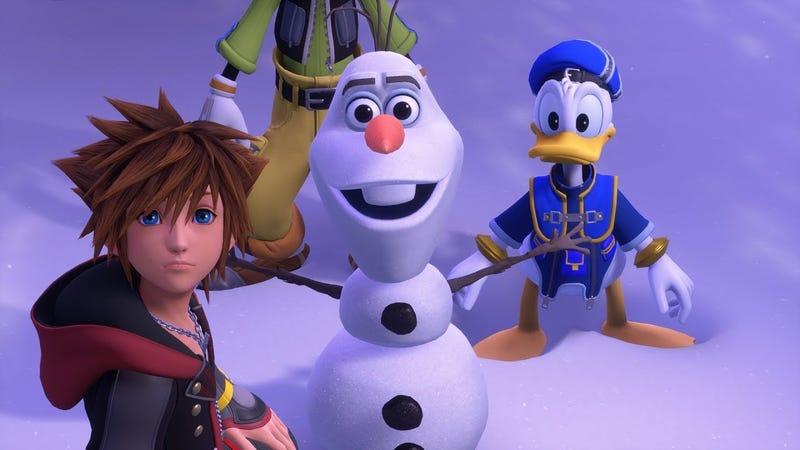 Olaf, schmolaf.