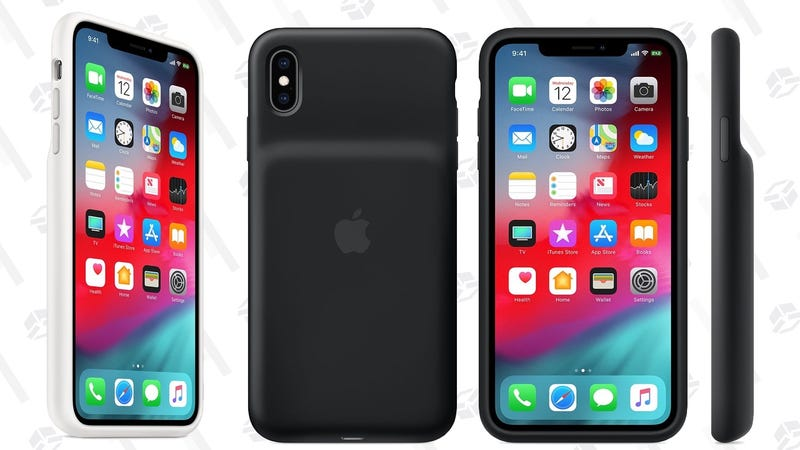 Apple Smart Battery Case | $129 | For iPhone XS, XS Max, and XR