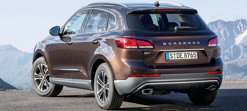 Illustration for article titled Chinese-Backed Borgward's First Car Is An Audi Knockoff