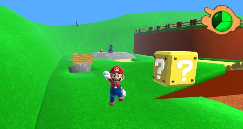 Illustration for article titled Ya puedes jugar en tu ordenador al Super Mario 64 en HD (actualizado)