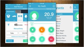 Illustration for article titled TacitoHealth Is an All-Inclusive Health Tracking Dashboard