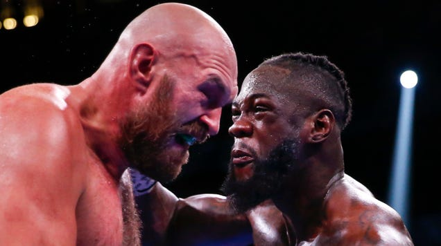 Deontay Wilder took the high road… but it made everything less fun