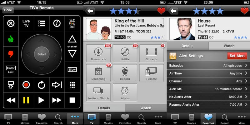 Illustration for article titled i.TV iPhone App Grows a Remote Control Framework, TiVo Gives It a Whirl
