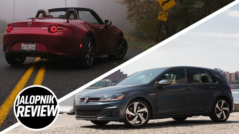 2019 Mazda Miata VS  2018 Volkswagen Golf GTI: Which To Buy?