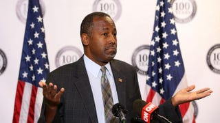 Republican presidential candidate Ben CarsonJustin Sullivan/Getty Images