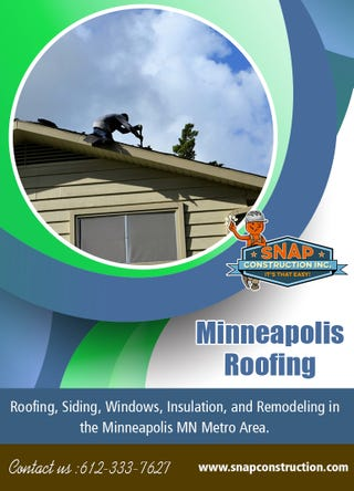 Illustration for article titled Minneapolis Roofing   Call us 6123337627   snapconstruction.com