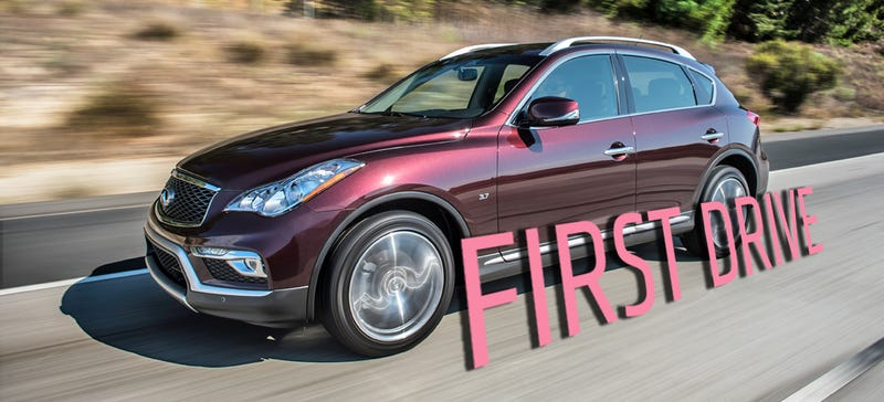 Illustration for article titled The 2016 Infiniti QX50 Is Remarkably Old School For A Tech-Focused Update