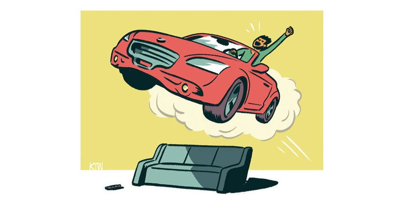 Illustration for article titled Get Off Your Ass And Go Play With Cars