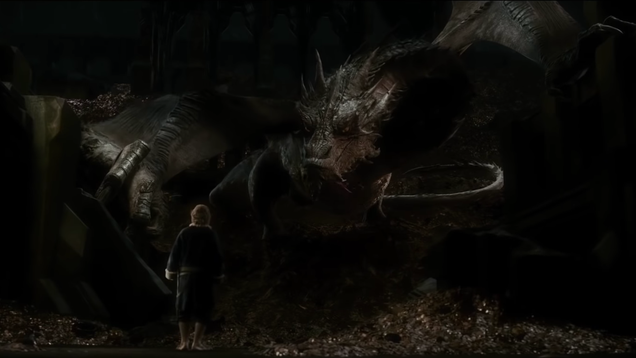 Sorry, but The Hobbit's Smaug is still the best dragon