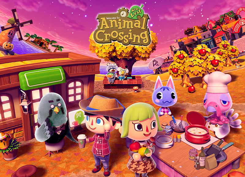 Illustration for article titled Life Doesn't Get Much Better Than Animal Crossing