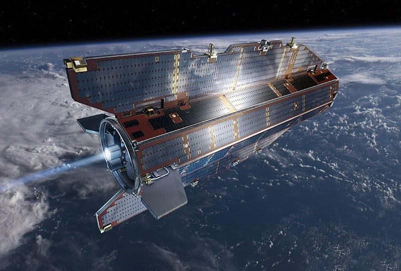 Illustration for article titled Este enorme satélite caerá pronto a la Tierra en un lugar impredecible