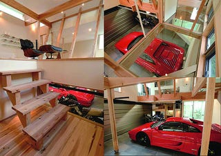 Illustration for article titled How We'd Store Our Ferrari