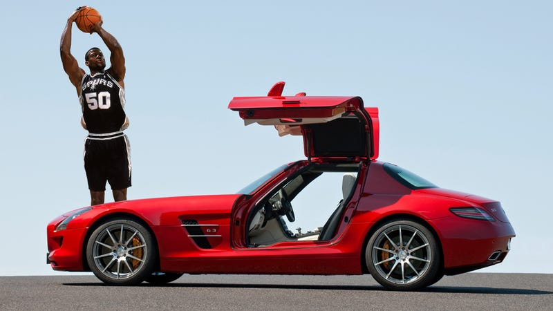 Ten Sports Cars Big Enough For An NBA Center - Sports cars for tall guys
