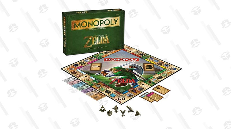 Monopoly: The Legend of Zelda Collector's Edition | $25 | Amazon
