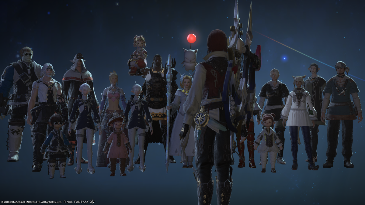 From Rapture to a Realm Reborn