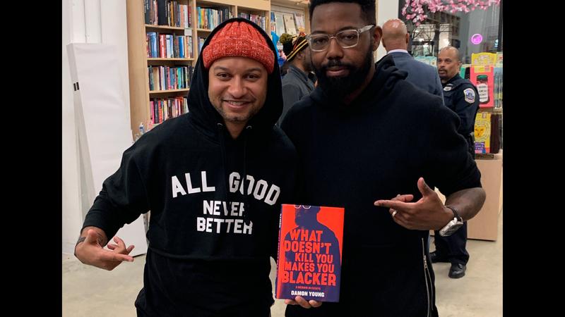 Panama Jackson and Damon Young at Politics and Prose at The Whart (March 27, 2019, Washington, DC)