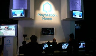"""Illustration for article titled PlayStation Home Was Originally """"Hub"""""""