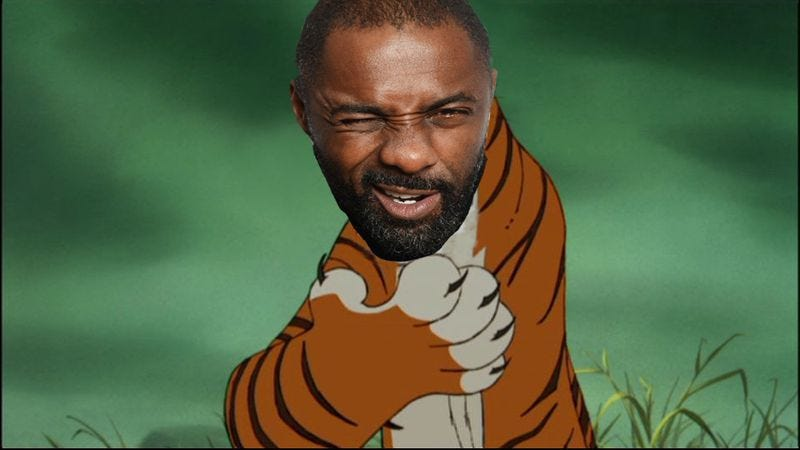 Illustration for article titled Idris Elba to play the tiger in Disney's new Jungle Book