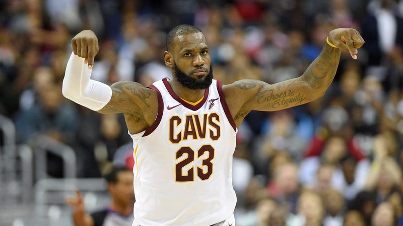 watch 05ff0 88f52 LeBron James Devoured The Noisy Wizards