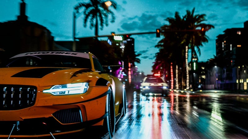 Newly Announced Need For Speed Has Some Serious Vice City Vibes